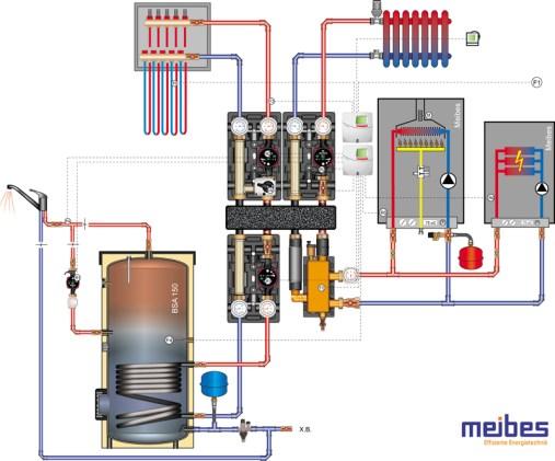 Схема котельной 35 кВт