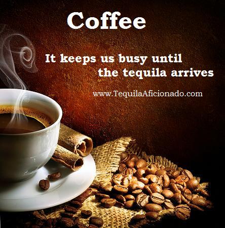 coffee, tequila
