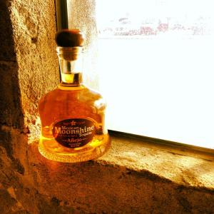 Award winning Mexican Moonshine añejo.