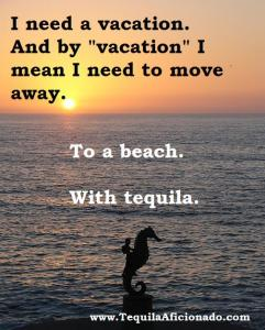 vacation, tequila, beach, tequila brands, nom list