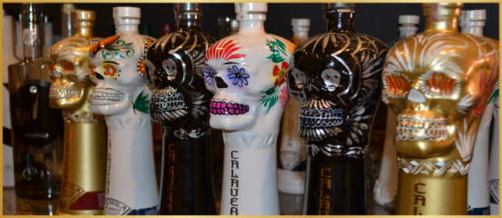 calavera tequila, zipping off the cuff