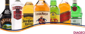 Diageo,  jose cuervo, captain morgan