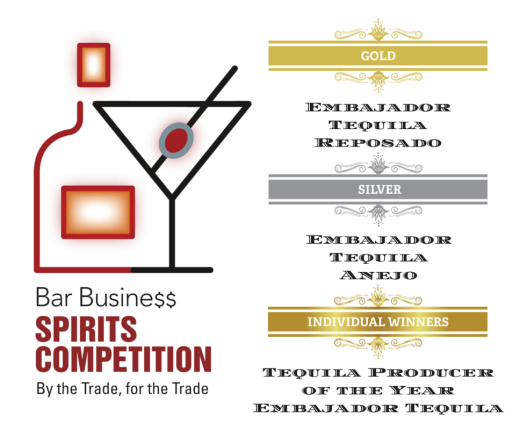 embajador, tequila, producer of the year, bar business magazine
