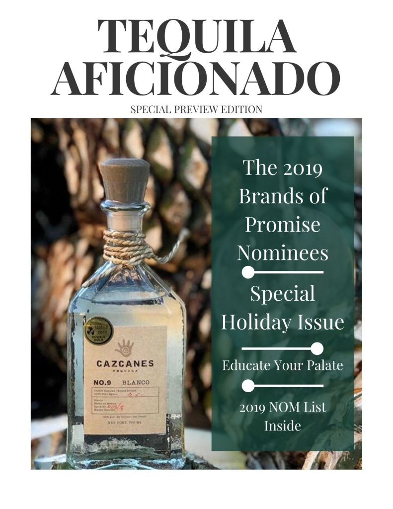 Book Cover: Tequila Aficionado Magazine: 2019 Special Preview Issue