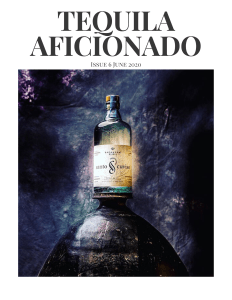 Book Cover: Tequila Aficionado Magazine June 2020