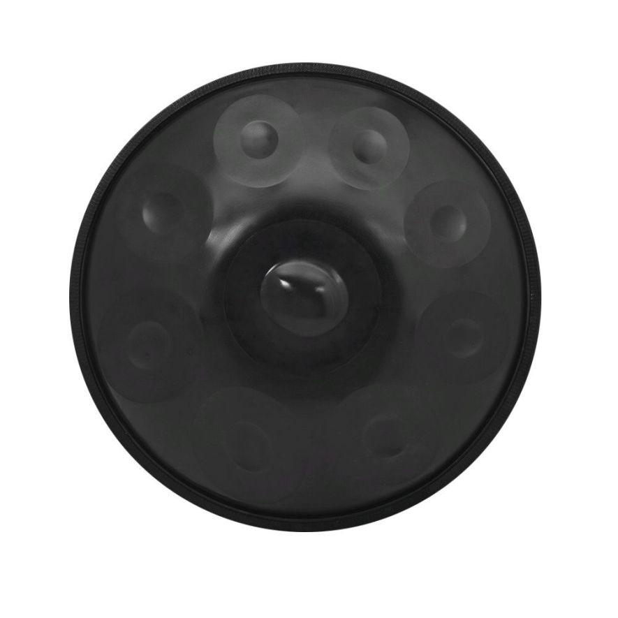 Hand Pan De 9 Notas de acero al Carbono negro Tambor de mano