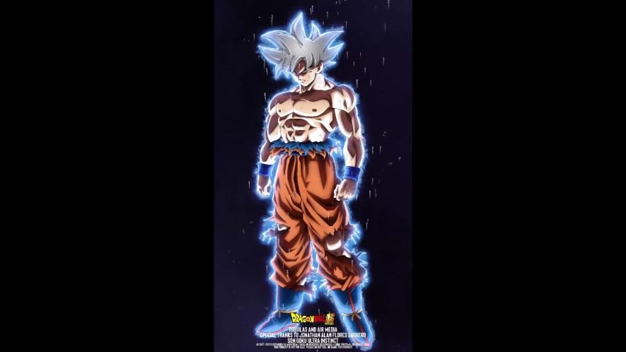 Son Goku Ultra Instinto Live Wallpaper