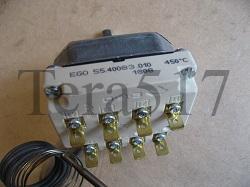 Термостат EGO 100-450 °C 4 полюса 55.40083.010