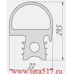 Уплотнитель Абат ПКА6-1/1ПМ ПКА6-1/1ВМ ПКА6-1/1ПП ПКА6-1/1ВП 2010 -НВ 100000008074