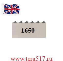 Полотно ленточной пилы ПМ-ФПЛ-250 для мяса 1650х16х4tpi