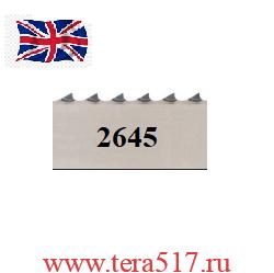 Полотно ленточной пилы ПМ-ФПЛ-351 для мяса 2645х20х4tpi