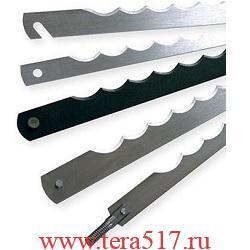 Нож рамный 260 мм штифт 3х6/винт М5х25 (CV, 12 мм, 0.5 мм) для хлеборезки MATAS