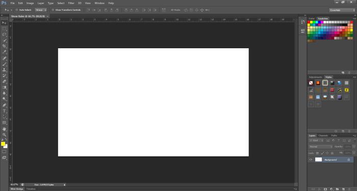 Ruler Adobe Photoshop