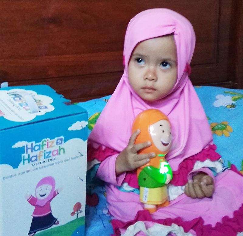 Harga boneka Hafiz dan Hafizah Talking Doll