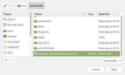 Aplikasi BitTorrent Client Terbaik di Linux
