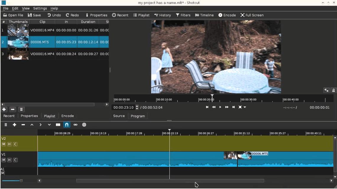 Shotcut Video Editor Linux