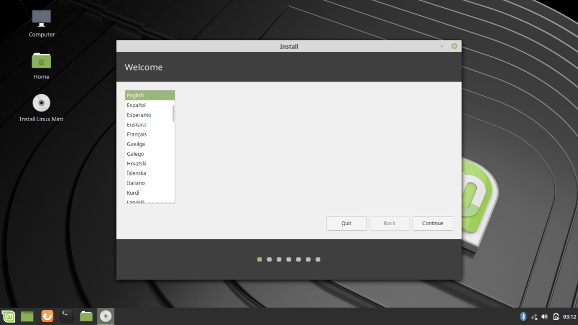 Dual Boot Linux Mint dan Windows