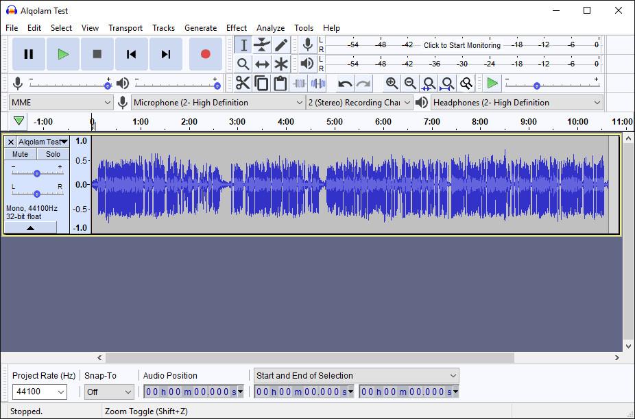 Cara mengurangi noise dengan Audacity