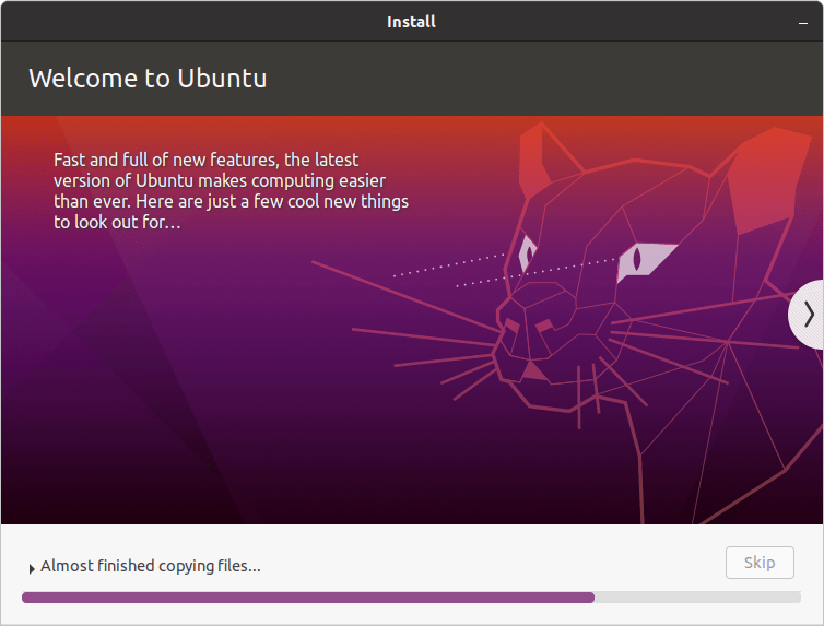Welcome to Ubuntu 20.04 LTS Focal Fossa