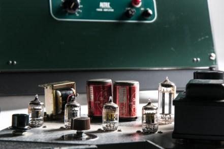 ALTEC 15095 Western Electric 408A 412A Line pre- main amplifier-13