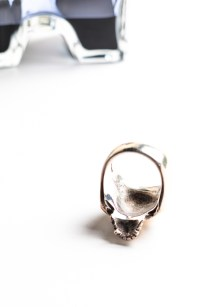 THE GREAT FROG Skull Ring-0498