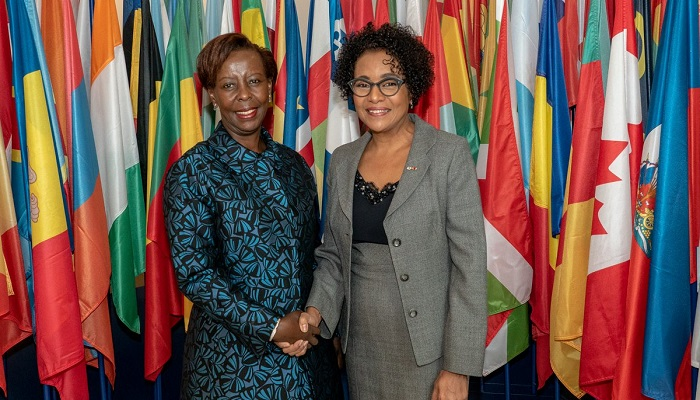 Louise Mushikiwabo prend officiellement ses fonctions de SG de l'OIF