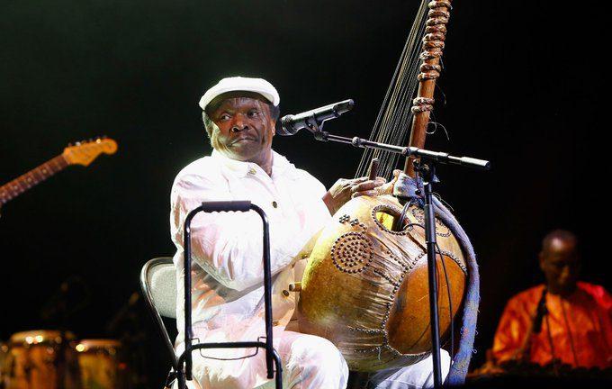 Musique: le chanteur Mory Kanté est mort