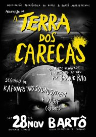 A Terra dos Carecas cartaz bartô net