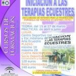 Cartel Curso Terapias Ecuestres EIAE