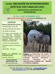 Curso de iniciación en Intervenciones asistidas con caballos (IAC)