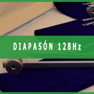 Diapasón 128 hercios