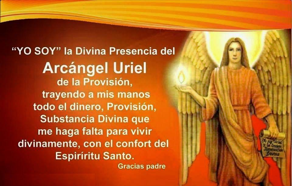 ORACIÓN DEL ARCÁNGEL URIEL