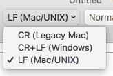 MacWindows文字コード変換方法