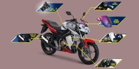 6 Part Aksesoris Yamaha V-Ixion Advanve SE