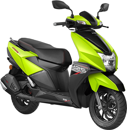 TVC Ntorq 125 2018 Green Metallic
