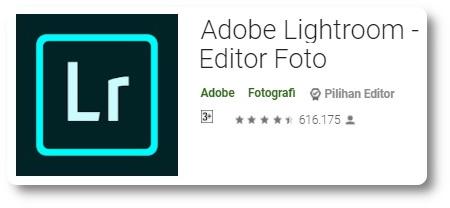Aplikasi Pengedit Foto - Adobe Lightroom -1