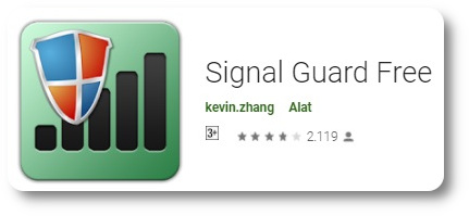 Aplikasi Penguat Sinyal 4G - Signal Guard Pro -1