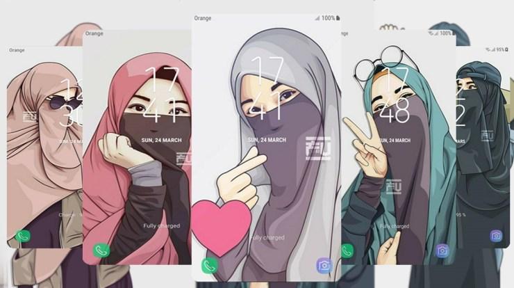 Aplikasi Edit Foto Kartun Muslimah