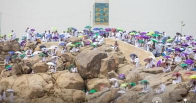 Suasana Emosional Jemaah Haji 2021 Saat Wukuf di Arafah