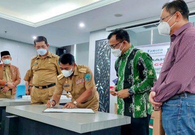 Lima Unit Oksigen Portable Diterima, Gubernur Harapkan Kasus Covid Melandai