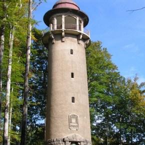 Wieża widokowa na Wzgórzu Krzywoustego.