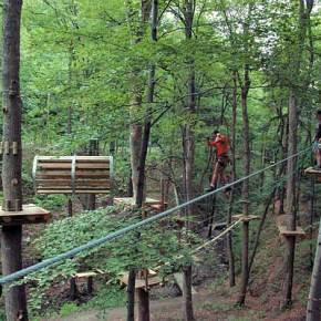 Park linowy Skalisko Fot. www.skalisko.eu