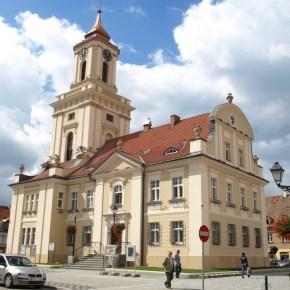 Ratusz w Świebodzicach Fot. Maciej Mikołajczyk