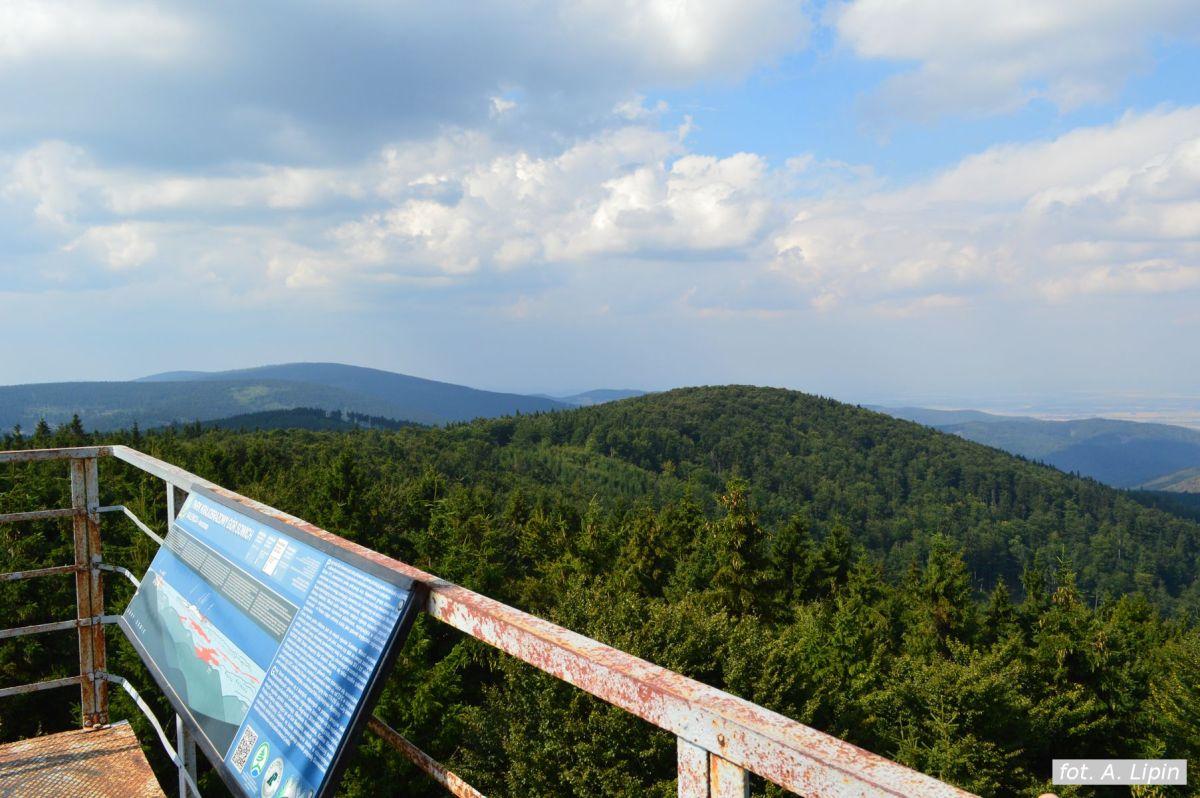 Wycieczka na Kalenicę, trzeci wierzchołek Sowiogórski (FOTO)