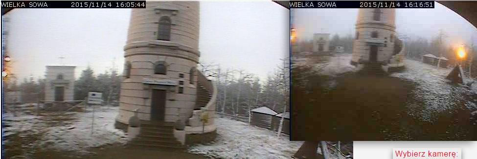 Zmodernizowany system kamer na Wielkiej Sowie już działa