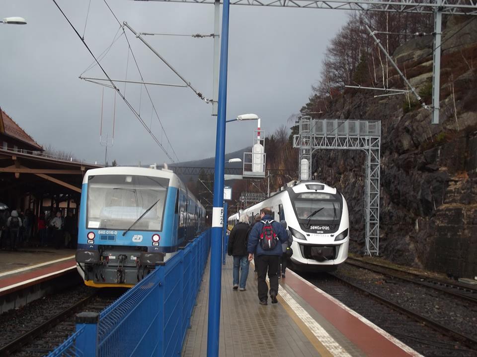 Pociągiem ze Szklarskiej Poręby do Harrahova i Liberca