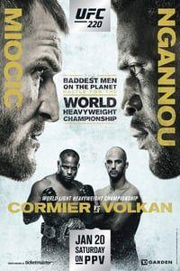 UFC 220: Miocic vs. Ngannou (2018)