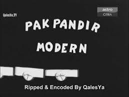 Pak Pandir Moden[Malaysia Movie] (1960)