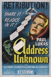 Address Unknown (1944)