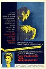 Nonton Film Witness to Murder (1954) Subtitle Indonesia Streaming Movie Download